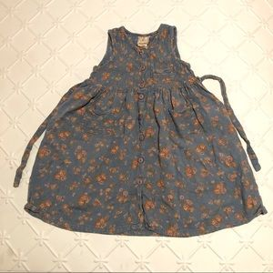 Vintage Cornelloki April Cornell Girls Dress 3/4